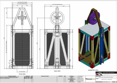 3 Deck Reconditioned Cages_Reference Drawings