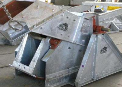 Galvanized Folding Chute