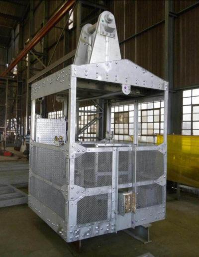 Galvanized Inspection Basket